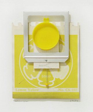 Artifact (Lemon Yellow) by Gerald Mead
