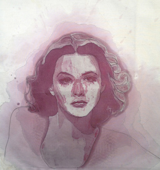 Hedy Lamarr, by Amelia Fais Harnas