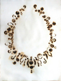 Honeycomb Necklace by Anne Gant at Exhibit A